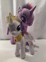 My Little Pony Plush Set -Twlight Sparkle(2014) & Princess Celestia(2016) Hasbro
