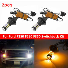 Dual-Color LED For Turn Signal Light /DRL For Ford F150 F250 F350 Switchback Kit