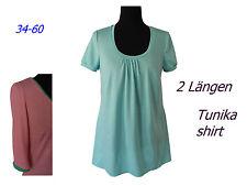 Schnittmuster Tunika/shirt +Bild Nähanleitung, alle Gr.34-60 * PDF -Datei*