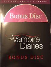 The Vampire Diaries - Season 5, Bonus Disc REPLACEMENT DISC (not full season)