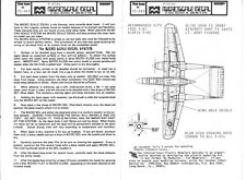 Old Packaging Microscale P-61A Black Widow Decals 1/72 263 Husslin' Hussy + 3