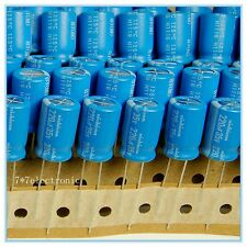 20pcs 220uf 35v Electrolytic Capacitor 35v220uf Nichicon 125°C for auto P28 C14