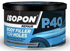 Davids Isopon P40 250ml Fibre Glass Body Filler Durable Water Proof