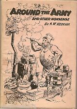 Around the Army and other nonsense Keough world war 2 Bulletin Bo Scorfield 1943