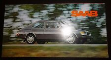 SAAB 99 RANGE 1978 UK Mkt Small Format Sales Brochure inc Turbo