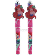 Disney Little Mermaid Ariel Authentic Licensed Pens ( 2 Pens )