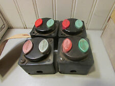 Lincoln M6574A Push Button Start Stop Switch lot of 4!
