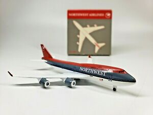 Schabak 921/37 Northwest Airlines Boeing 747-400 model 1:600 scale