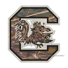 USC UNIVERSITY OF SOUTH CAROLINA Gamecocks Large Camo Decal