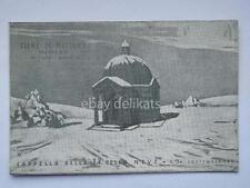 PIANE DI MOCOGNO Modena Cappella B.V. della neve vecchia cartolina