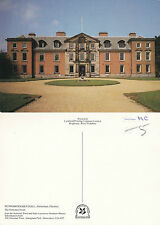 1980's DUNHAM MASSEY HALL ALTRINGHAM CHESHIRE UNUSED COLOUR POSTCARD