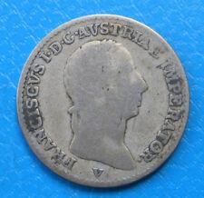 Italie Italia Lombardia & Venetia 1/4 lira argent 1822 V C#4.3