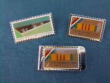Money Clip 15 Cents Vietnam Veterans USA Postage Stamp Tack Pins 15 Cents Lot 3