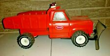 Vintage Tonka Dodge Powerwagon Hi-Way Dump Truck w/ Snow Plow, NICE