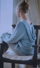 LADIES~LOOSE FITTING~HOODED YOGA TOP~ EASY ~KNITTING PATTERN~SIZE 81-102cm (17)