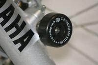 Yamaha DT125R / X 2006 onward R&G Racing Fork Protectors FP0074BK Black