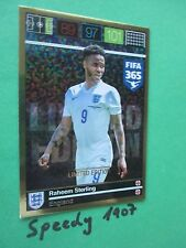 Panini Adrenalyn fifa 365 Limited Edition Raheem Sterling Inglaterra