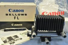 Vintage BUT BRAND NEW IN BOX Canon Bellows FL for Close-Up Macro Photography NOS