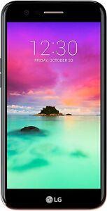 "Unused LG K10 16GB 4G LTE GPS WIFI GPS 5.3"" LCD 13MP Unlocked Smartphone Black"