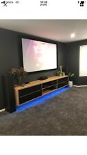 Aus Made Solid Wormy Chestnut Fairfax Wall Mountable Entertainment Unit