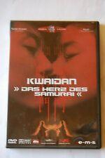 Kwaidan - Das Herz des Samurai (2004, Asian Cinema) UNCUT DVD, wie neu