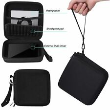 EVA Travel Carry Case Sac étui pour CD DVD Graveur Blu-Ray & Disque Dur Externe