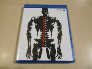 Terminator 6 Film Collection 6-Disc Blu-ray Set Arnold Schwarzenegger Action