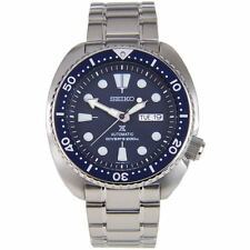 Seiko Stainless Steel Band Wristwatches with Sapphire Crystal