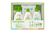 Babyganics Baby Safe World Essentials Gift Set Gentle Wipes Shampoo Soap Lotion