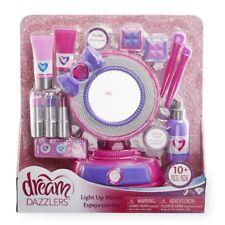 Dream Dazzlers Light Up Mirror Set 10+ Pcs Kids Play Toy Makeup Beautiful Girls