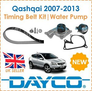 For Nissan Qashqai 1.5dCi 2007-2013 Dayco Timing Belt Kit & Water Pump OE Spec