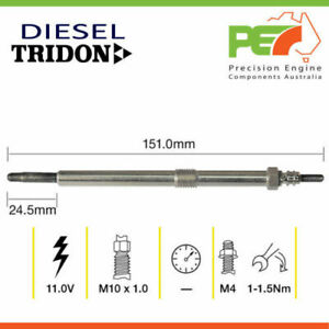 New * TRIDON * Glow Plug For Ssangyong Actyon Kyron 2.0 - Turbo Diesel