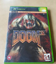 DOOM 3 - FPS - MICROSOFT XBOX ORIGINAL GAME