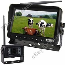 """DIGITAL BACK UP CAMERA SYSTEM 7"""" WIRELESS REAR VIEW LCD, NO INTERFERENCE"""