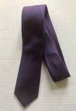 BANANA REPUBLIC Slim Patterned 100% Silk Tie