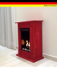 Ethanol Firegel Fireplace Cheminee Madrid Deluxe Red + 1 Stainless Steel Burner