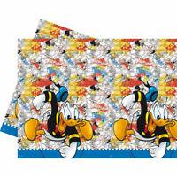 Boys Official Bob The Builder Party Table Cover Cloth 120cm x 180cm Reusable