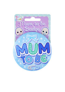 Mum To Be / New Mummy / Party Games Birth Badges 7.5cm