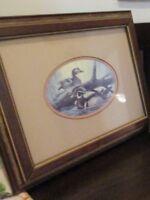 Vintage Ralph R.J. McDonald Signed  A Pair Of Fancy Ducks Framed Print