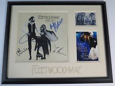 "FLEETWOOD MAC Signed Autograph ""Rumours"" LP Display by 5 Stevie Nicks, Lindsey +"