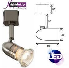 Knightsbridge Mains Cool White Single Circuit Lighting LED GU10 Track Spot Light