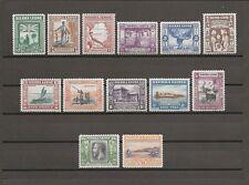 SIERRA LEONE 1933 SG 168/80 MLH Cat £1100