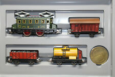 Märklin 0050 Train Set With Elok And 3 Freight Car 50 Years Gauge H0 Boxed