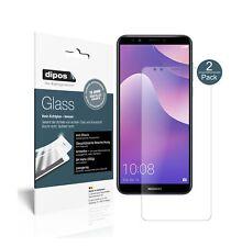 2x Huawei Y7 Prime (2018) Screen Protector matte Flexible Glass 9H dipos