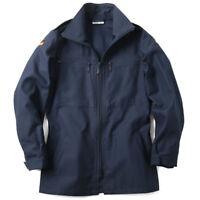 NEW Genuine German Army Navy Deck Blue Zipper Jacket Shirt Surplus XL L