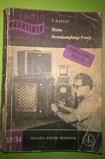 Livre Buch Radio Praktiker N°52/54 Kleine Fersehempfangs Praxis