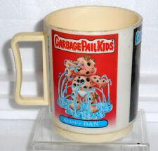 Garbage Pail Kids Vintage Plastic Mug, 1986 Peter Pan Inc. New Old Stock