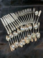 PICKWICK silverplate flatware 34 pcs 1938 IS Wm Rogers Mfg - Excellent 407