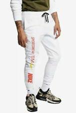 Nike Tracksuit Bottoms Pants Sportswear Joggers White Size L, XL