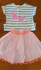 Girls Cotton On Top & Milkshake Skirt Size 8